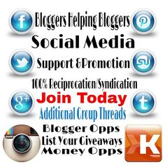 Bloggers Only:   If your a Blogger and your looking for a way to get more help on social media support and promotion.. Join Bloggers Helping Bloggers Facebook Group...  Join Now Click This Pic @erdapd #erdapd #ccb #bloggershelpingbloggers #bhb