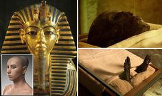 Mummy-fried! Tutankhamun's body spontaneously combusted INSIDE his coffin following botched embalming job after he died in speeding chariot ...