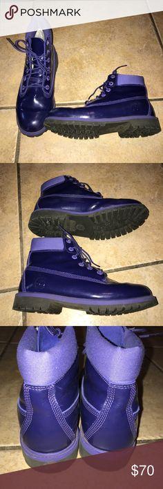 Purple Timberland Boots Size 7 Purple Timberland Boots Size 7 Timberland Shoes Winter & Rain Boots