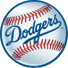 Los Angeles Dodgers Baseball Cutout - Party City