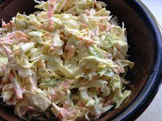 Ei mitään syötävää...: Coleslaw ja helppoa grilliruokaa