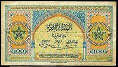 100 Francs DU Maroc 1 5 1943   eBay