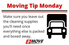 #MovingTipMonday with #EZMove