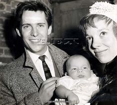 With Anna and David after his christening.