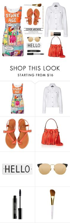 """""""For funny girls..."""" by gul07 ❤ liked on Polyvore featuring Boutique Moschino, J Brand, Jigsaw, Milly, Rosanna, Linda Farrow, Lord & Berry, Isaac Mizrahi and Bare Escentuals"""