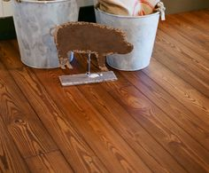 """Prefinished """"Old World"""" wide plank flooring. - Wide plank flooring, hand distressed."""