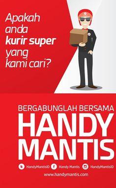 Dafyar Kurir Online Handy Mantis