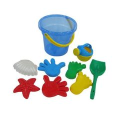 Wader Toys Bucket Set Beach