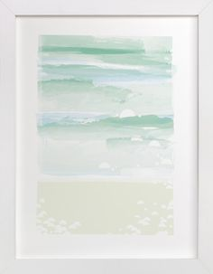 out to sea. by Carolyn MacLaren at minted.com