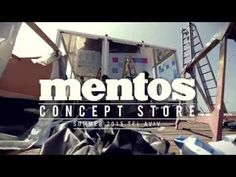Mentos Concept store: behind the scenes - YouTube