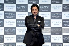 Japanese actor Hiroyuki Sanada attends a press conference for his new new movie 'Extant' on December 4, 2014 in Tokyo, Japan.