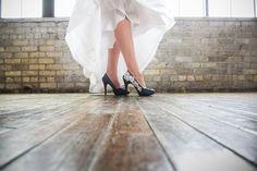 Bridal Shoes. Navy Blue Wedding Shoes Navy Blue by walkinonair