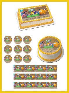Bubble Guppies 1 Edible Birthday Cake Topper OR Cupcake Topper, Decor #BirthdayChild