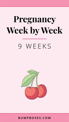 Week 9 – time to celebrate! 9 Week Fetus, 9 Weeks Pregnant Ultrasound, Fetus Size, Third Month Of Pregnancy, Baby Bumps, Baby Size, Physiology, Body Parts, Cherry