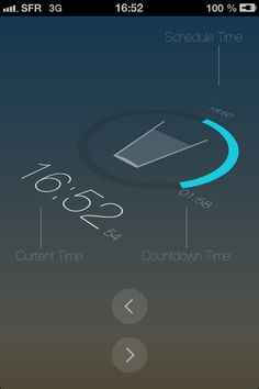 Water + Clock #iPhone #Tutoriel