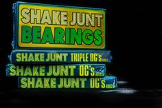 We have those @shakejunt bearings on lock at #OrbitSkate! Come grab your set today!! Photo by #KeithHalterman
