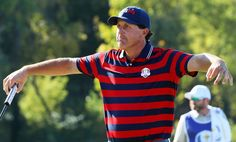 Ryder Cup images: The funniest images from Hazeltine | RyderCup.com Ryder Cup, News Media, Funny Images, Polo Shirt, Mens Tops, Golf, Shirts, Fashion, Humorous Pictures