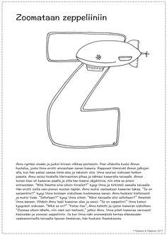 Z-kirjaimen tarina ja värityskuva