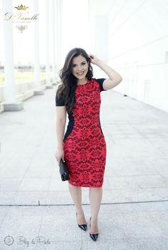 Look do Dia: Tubinho Vermelho D'Vanelle | Blog da Paola