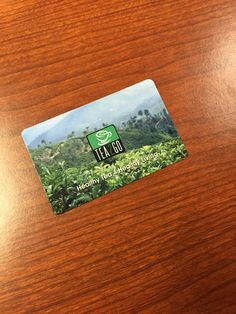 Tea2Go Gift Card--Valued at $15.00--Bidding starts at $2.00