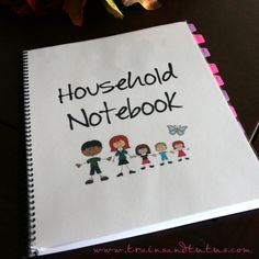 DIY household planner (includes links to some good printables)