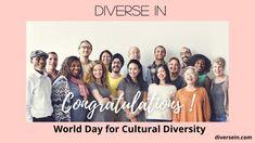 World Days, Cultural Diversity, Workplace, Leadership, Congratulations, Culture