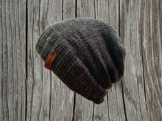 Cooooazy Knit Beanies in Gray or Black. Like your favorite sweater... but for your head. Bourbonandboots.com