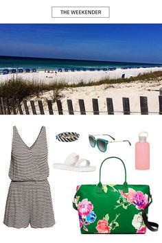 What to pack for Seaside, FL #TCWeekender
