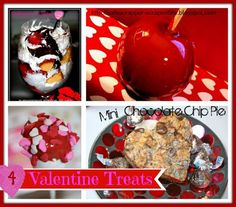 4 homemade Valentine Treats