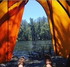 Tent with a view. Myall Lakes National Park, NSW, Australia in pictures. Photo: clarejanehalsall