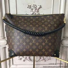 8a6b715ad69 Louis Vuitton M44130 Triangle Softy Hobo Bag Monogram Canvas   Louisvuittonhandbags