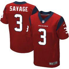 Men Houston Texans #3 Tom Savage Elite Jersey #TomSavage #Jerseys #TomFans #Jersey #HoustonTexansFans #EliteJersey