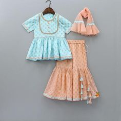 Indian Wear, Ethnic Wear for Girls Baby Girl Frocks, Baby Girl Party Dresses, Frocks For Girls, Little Girl Dresses, Baby Frocks Designs, Kids Frocks Design, Baby Girl Dress Design, Kids Ethnic Wear, Kids Blouse Designs