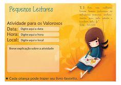 Apenas uma Secretaria: Dia de Atividade - Pequenos Leitores