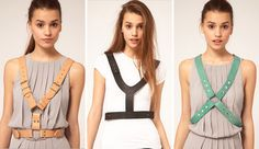 asos leather harnesses