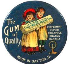 Sweet Wheat Chewing Gum pocket mirror