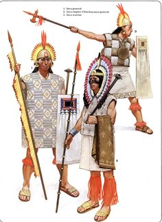 warriors of the Inca Empire