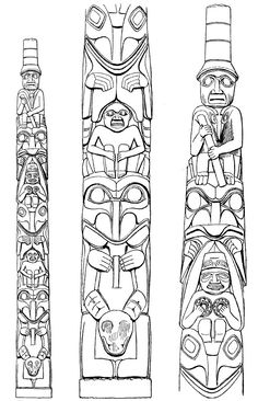 """Totem pole Haida BM - Search results for """"totem pole"""" - Wikimedia Commons"""