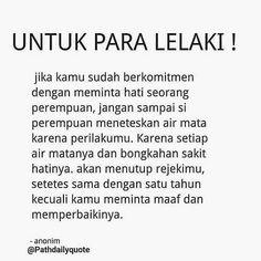 "BERANI MENJADI LEBIH BAIK! di Instagram ""Wahai para mas-mas yang budiman 😌 Tag sahabatmu... . . . . @pathdailyquote #kajiandakwahremaja - #regrann - #regrann"" Muslim Quotes, Islamic Quotes, Self Reminder, Quotes Indonesia, Good Heart, Instagram Quotes, Totems, Gw, To My Future Husband"
