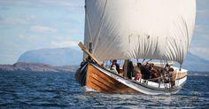 "Viking ship sails were made from handspun wool yarn! ""The fleece that launched 1,000 ships"" from Hakai Magazine."