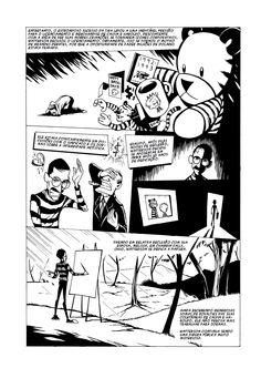 Minibiografia do autor de Calvin & Haroldo, feita por Andrew Chesworth.