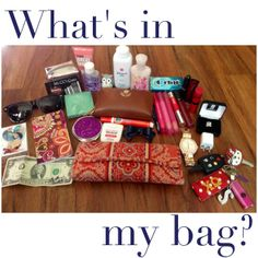 Sarah Smile: What's in my bag!