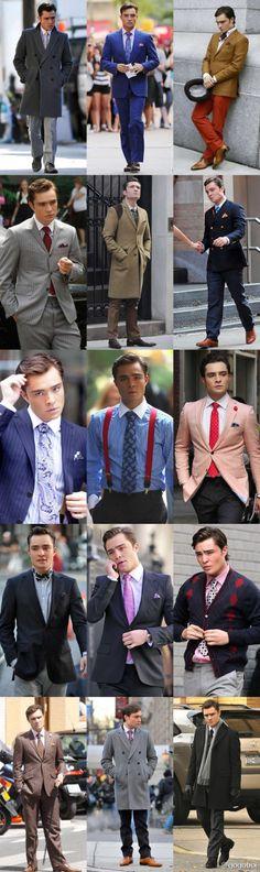 Chuck Bass. Love the way he dresses...