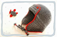 Podarёnka: Crochet airplane & hat for baby boy