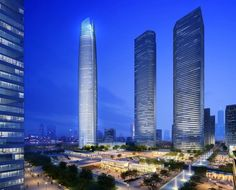 Wuhan Center en Wuhan, China — 438m