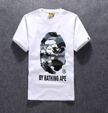 7d4673fa4 For $9.99 is a New Men's Camo Ape Monkey Head Printed Round Neck Bape  Fashion Tee