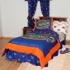 Florida Gators Bed in a Bag w/ White Logo Sheets