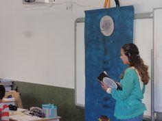 """Leitura do livro  """"A que sabe a lua"""" recomendado pelo Plano Nacional de Leitura, para o 1º Ano de Escolaridade."""