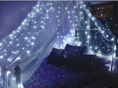 Remodel the bedroom as if you both were sleeping under the stars.