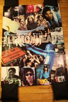 LEMONHEADS - Come On Feel - Rare Vintage Poster FOR SALE